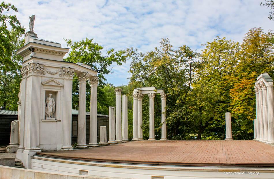 Лазенки крулевске - старый театр