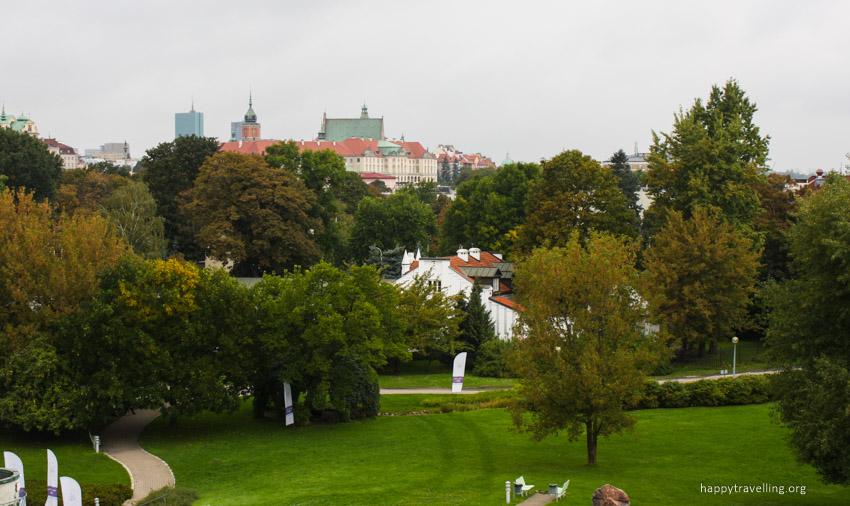 смотровая площадка в Варшаве