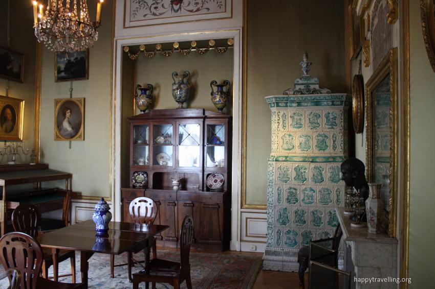 дворец внутри