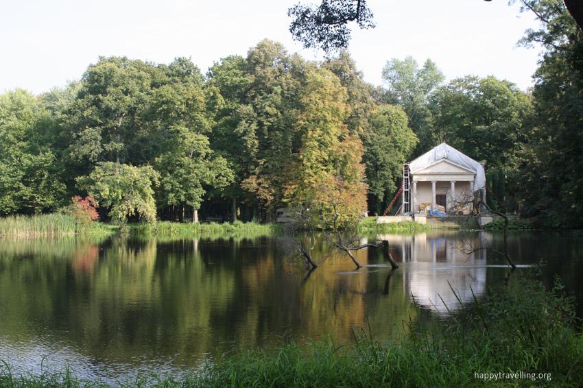 парк Аркадия под Варшавой
