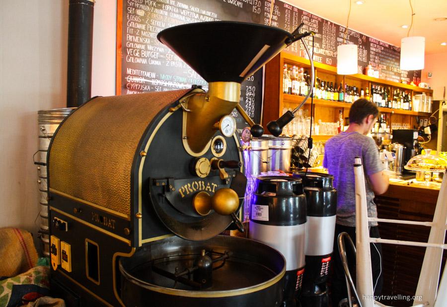 для жарки кофе