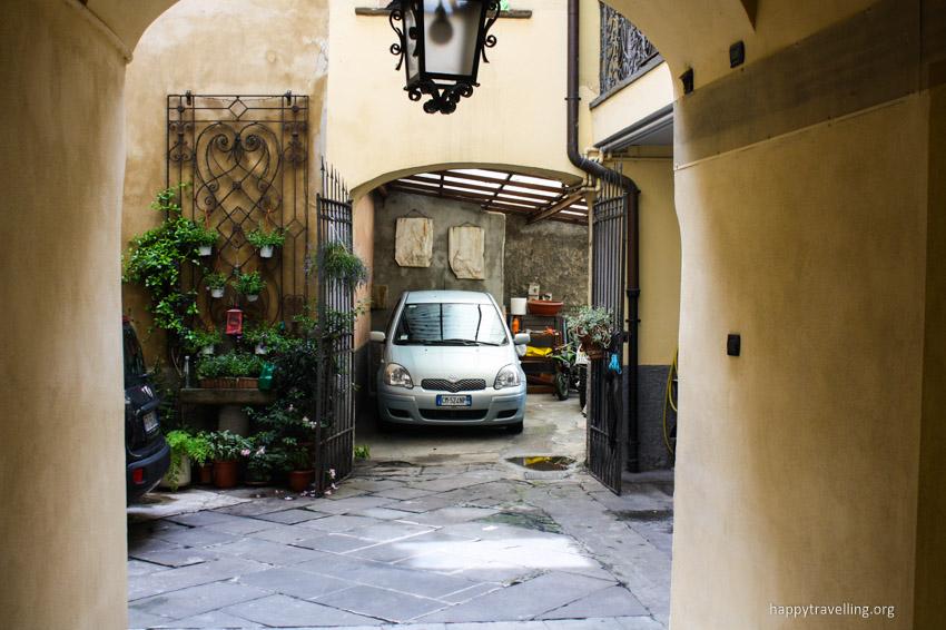 дворик в бергамо