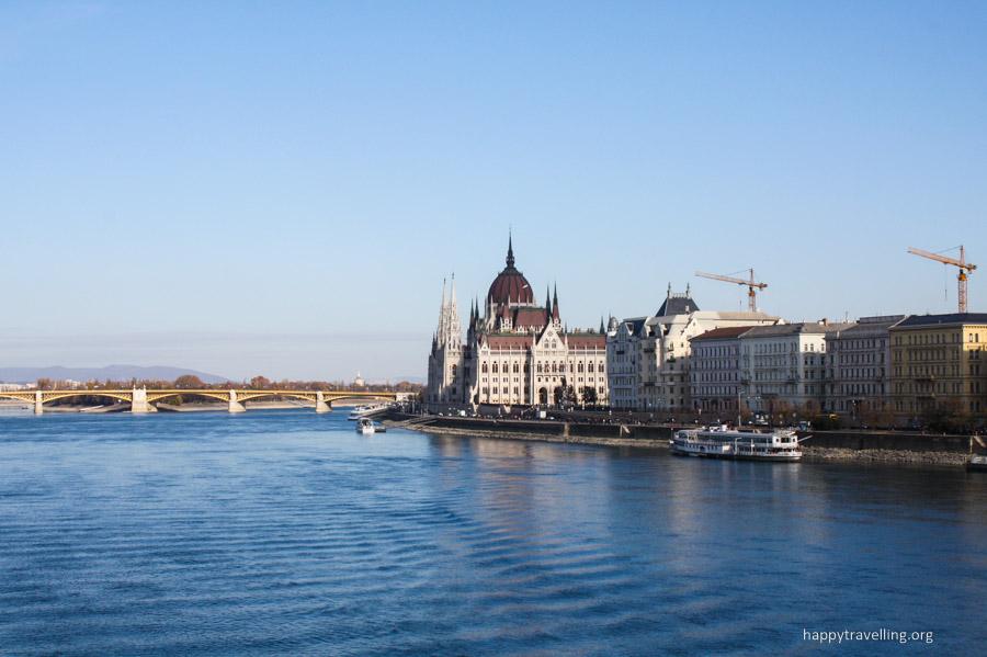 будапешт - вид с моста