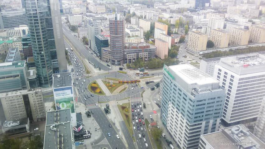 Варшава вид с высоты
