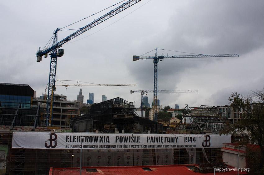 строительство в Варшаве