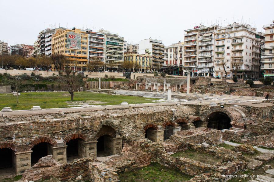 развалины салоники