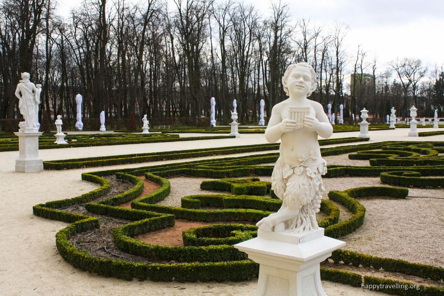 сад дворца Браницких