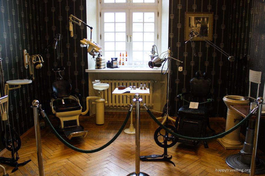стоматологический кабинет в музее