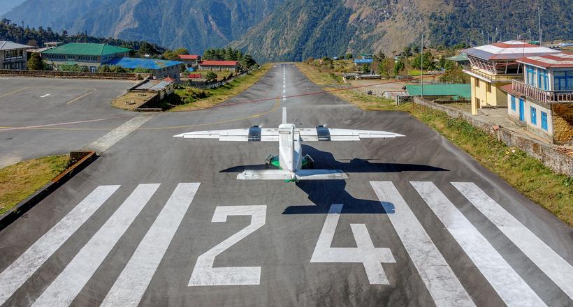полосы в аэропорту