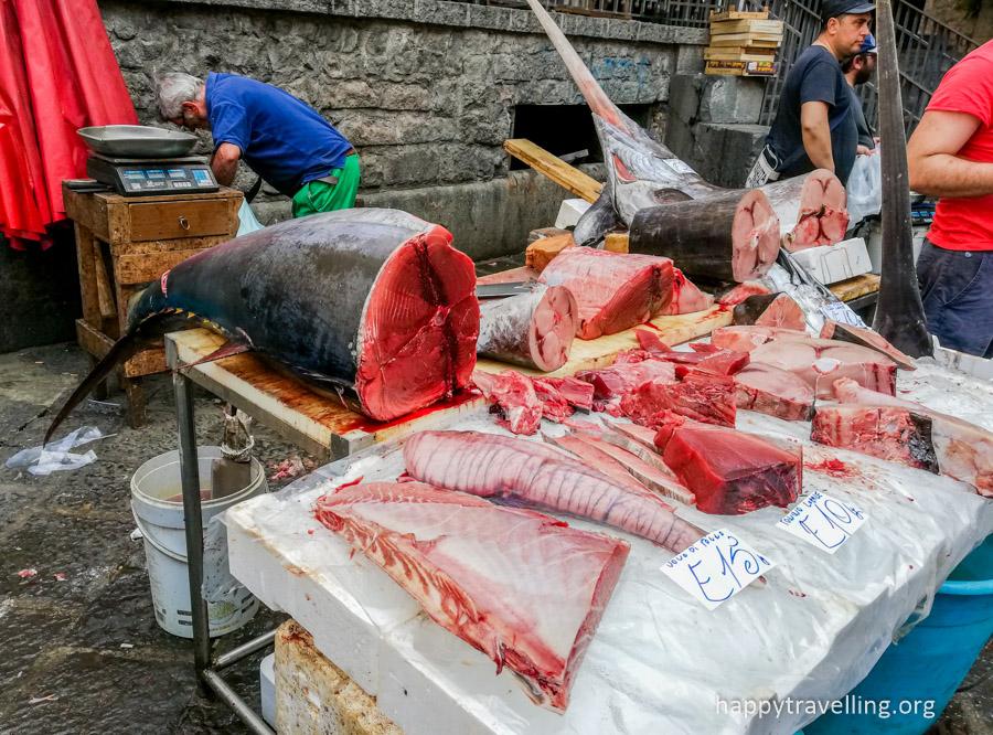 рыбный рынок на сицилии