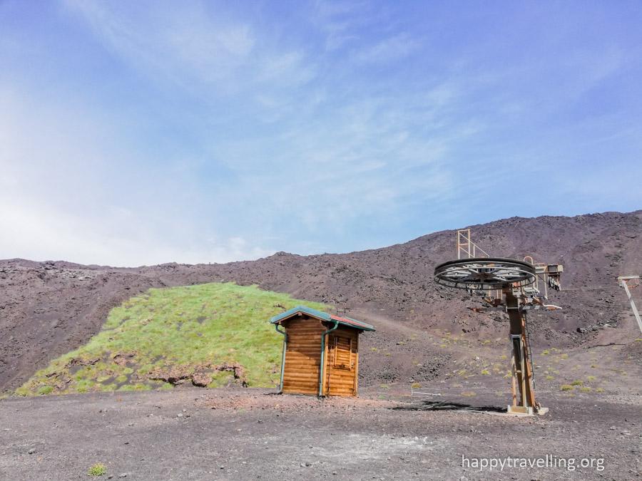 подъем на вулкан Этну