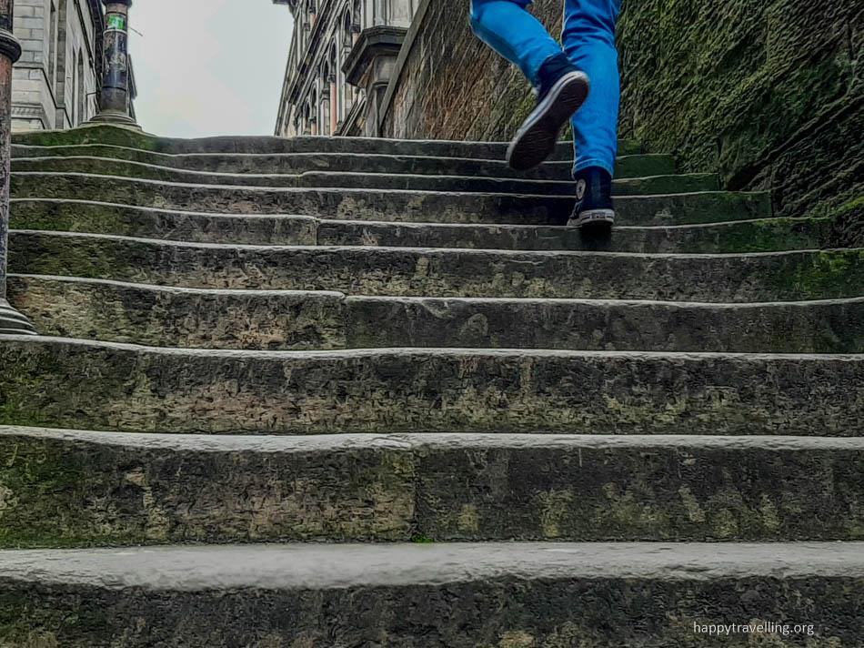 лестница в эдинбурге