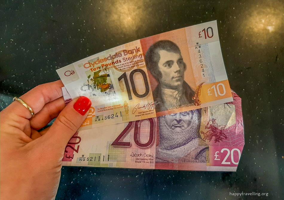 шотландские фунты