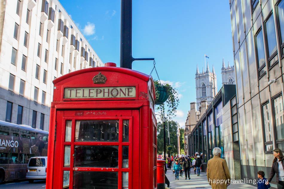лондон красная телефонная будка