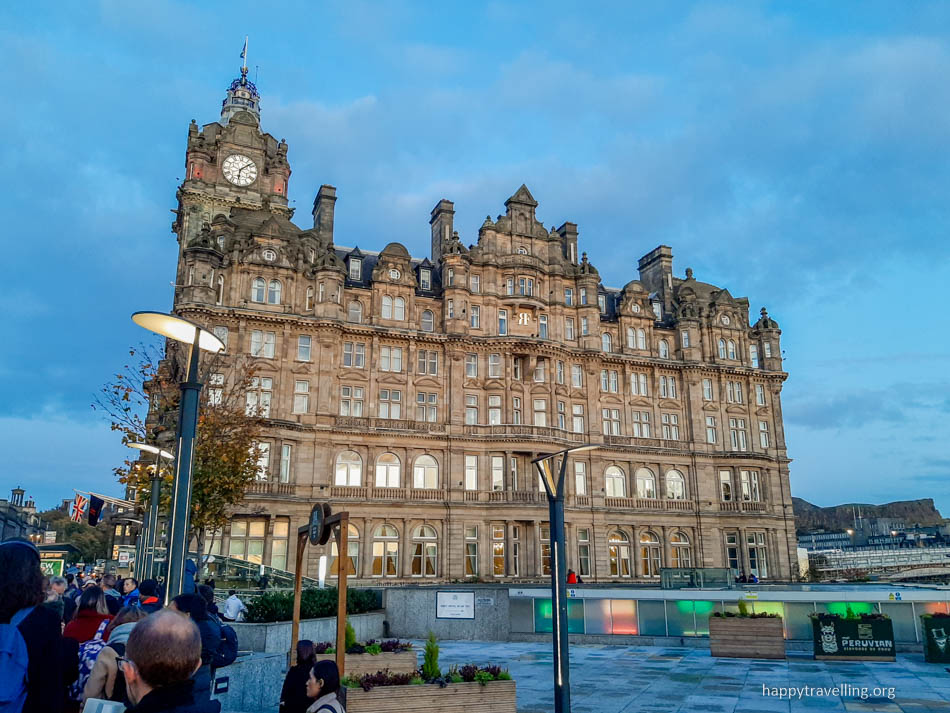 отель Балморал в Эдинбурге