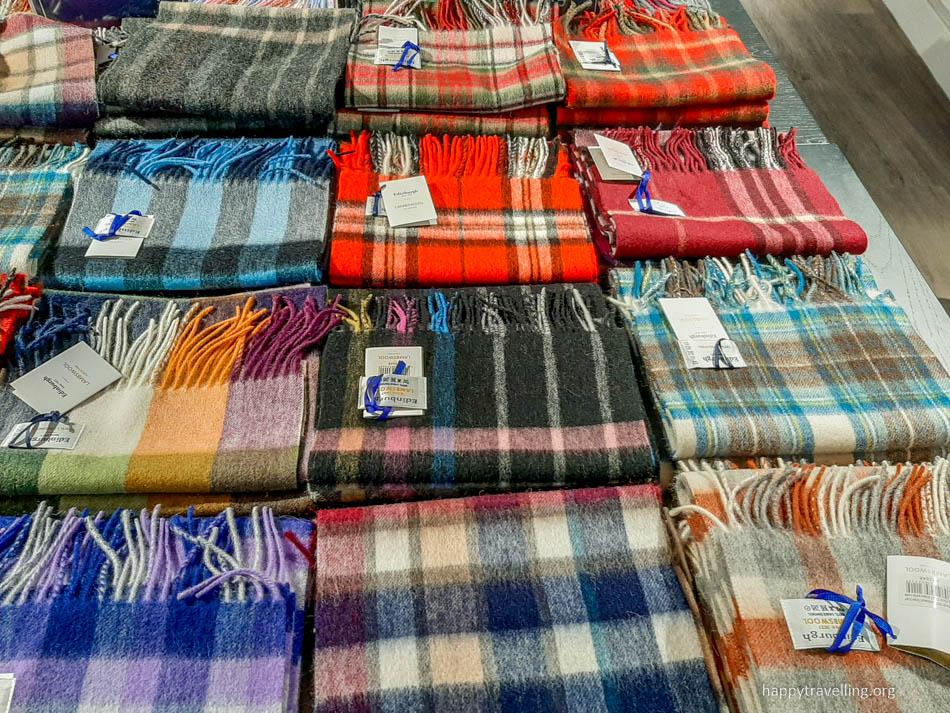 шарф из Эдинбурга шотландский