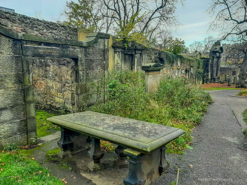 кладбище Эдинбурга
