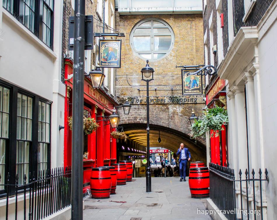 дворики Лондона