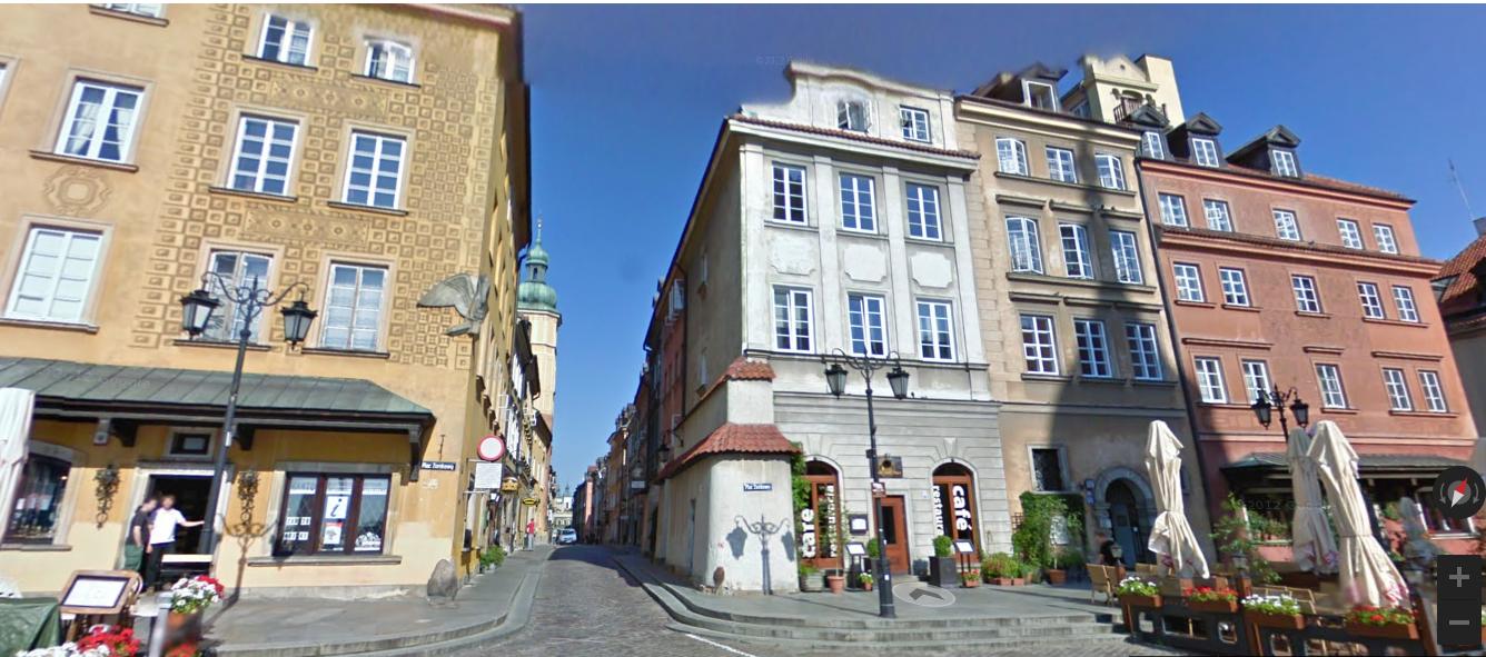 онлайн-прогулки по Варшаве