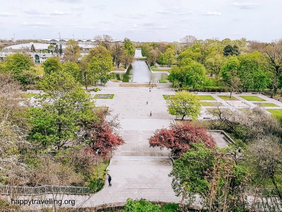 парк уяздовский