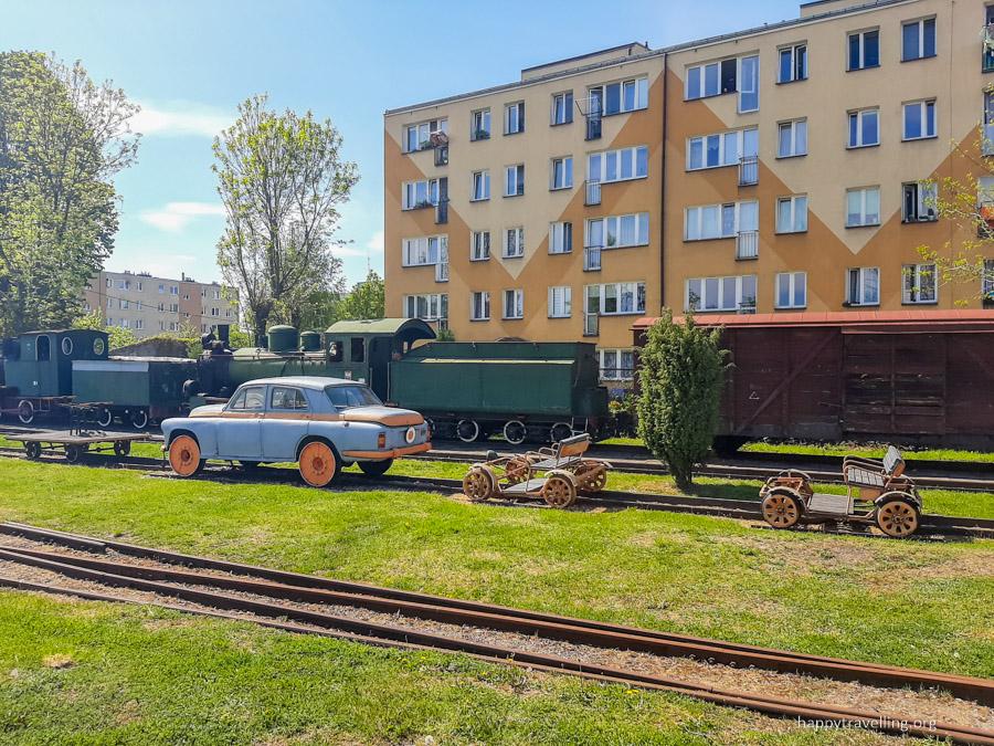 музей железной дороги под варшавой