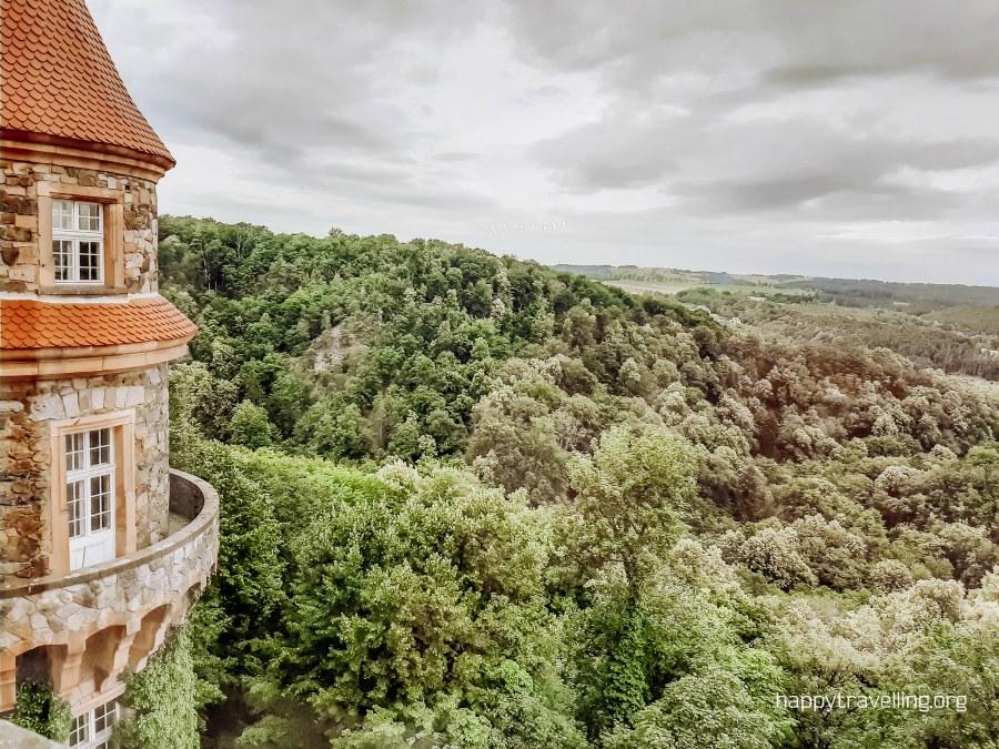 башня замка Ксёнж