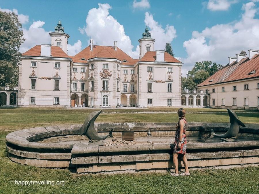 Дворец Белиньских под Варшавой