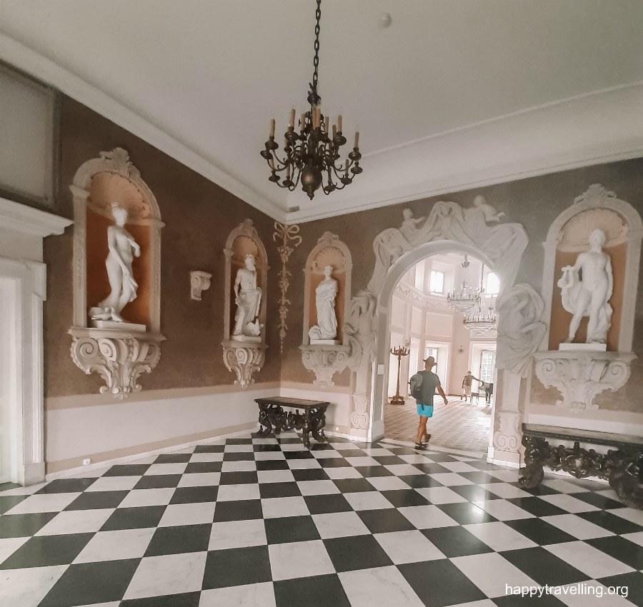 дворец Белинских под Варшавой